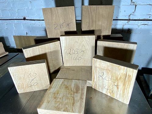 270x270x50 mm Oak Wood Turning Blanks