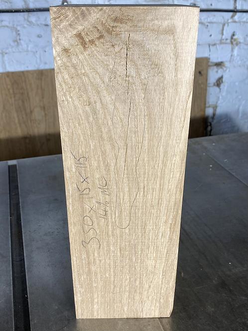 350 x115x115 Oak Wood Turning Blank