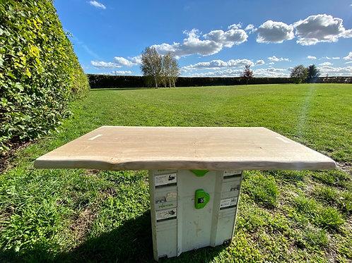 Bespoke Oak Table Top 1m