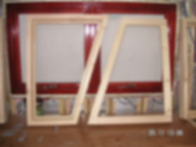 Our carpenters made these bespoke windows for the Humber keel barge in Kent