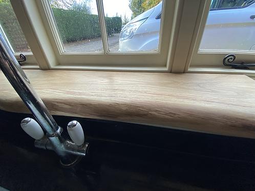 1.25m long Oak Window Board