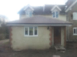 Another finished extension from doodle and construct builders in Rochester Kent