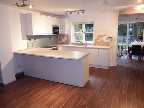 Kitchen extension in Kent