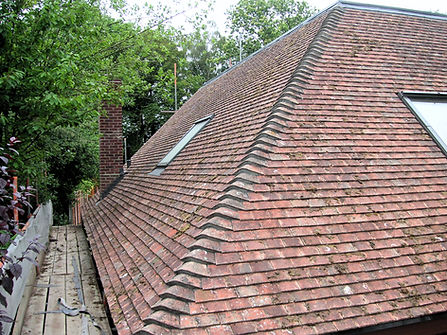 carpenters in kent finished roof