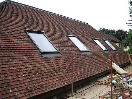 carpenters in kent finished velux windows