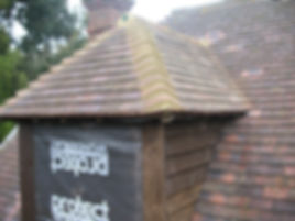Builders in Kent tiling new dormer windows
