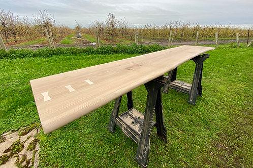 Oak Slab Desk Top