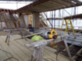 carpenters in Kent new roof on an extension