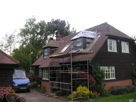 Builders in Kent Fitting a dormer window