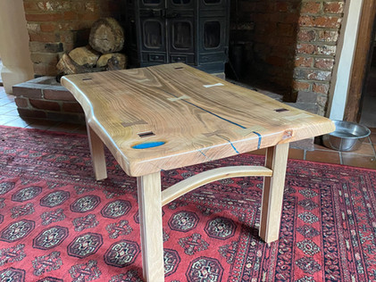 Bespoke Furniture Made From Our Waney Edge timbers