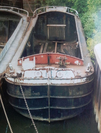 Humber keel Good Luck Barge Conversion