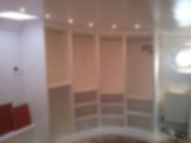 Fitted wardrobes on a liveaboard barge by doodle and construct