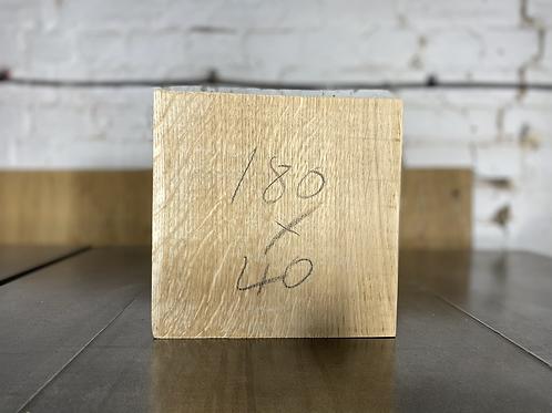180x40 mm Oak Wood Turning Bowl Blank