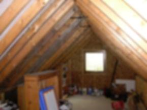 carpenters in Kent Loft conversion in Harrietsham kent before