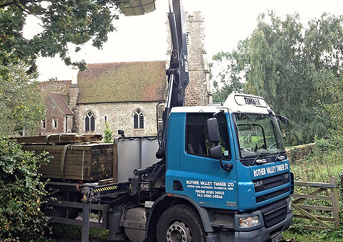 Timber delivery kent