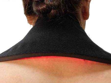 Aches & Pains from Working at Home? Red Light Therapy to the Rescue!