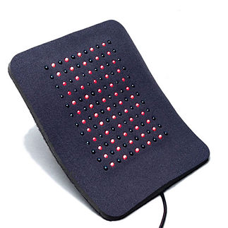 Light therapy medium local infrared red LED light therapy pad