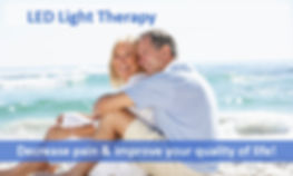Decrease pain improve quality of life with LED Light Therapy