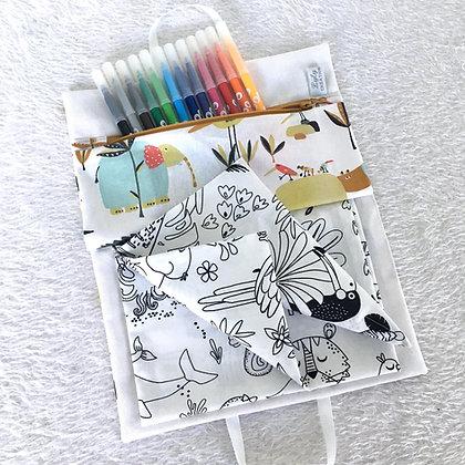 Cahier de Coloriage Lavable