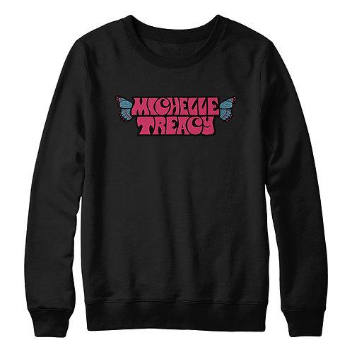 Michelle Treacy Black Crewneck Sweater