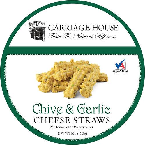 Chive & Garlic Cheese Straws