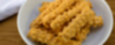 All natural, preservative-free cheese straw snacks