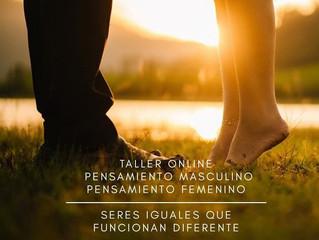 Taller Online Pensamiento Masculino - Pensamiento Femenino