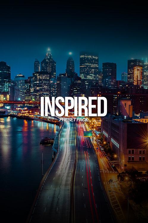 """Inspired"" Lightroom Preset Pack"