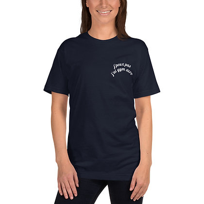 T-Shirt Bleu marine (foncé) Adolescent logotisé Marly Acrobat'Club