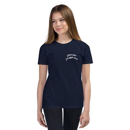 T-Shirt Bleu marine logotisé Marly Acrobat'Club