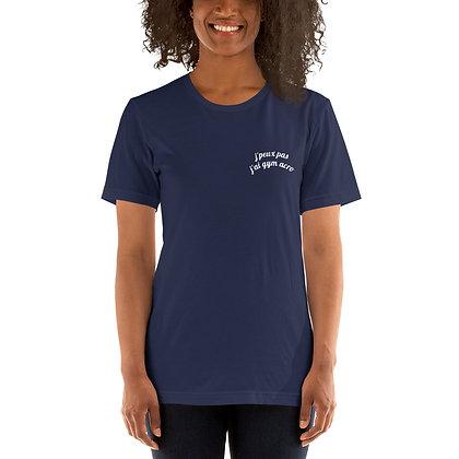 T-Shirt Bleu marine Adolescent logotisé Marly Acrobat'Club