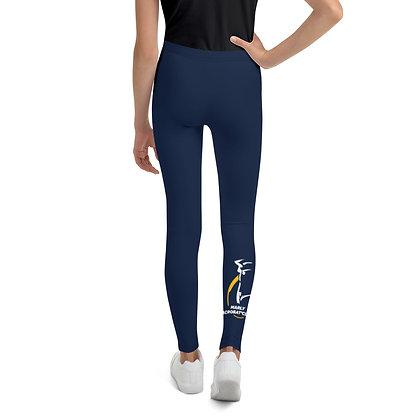 Legging Bleu marine logotisé Marly Acrobat'Club