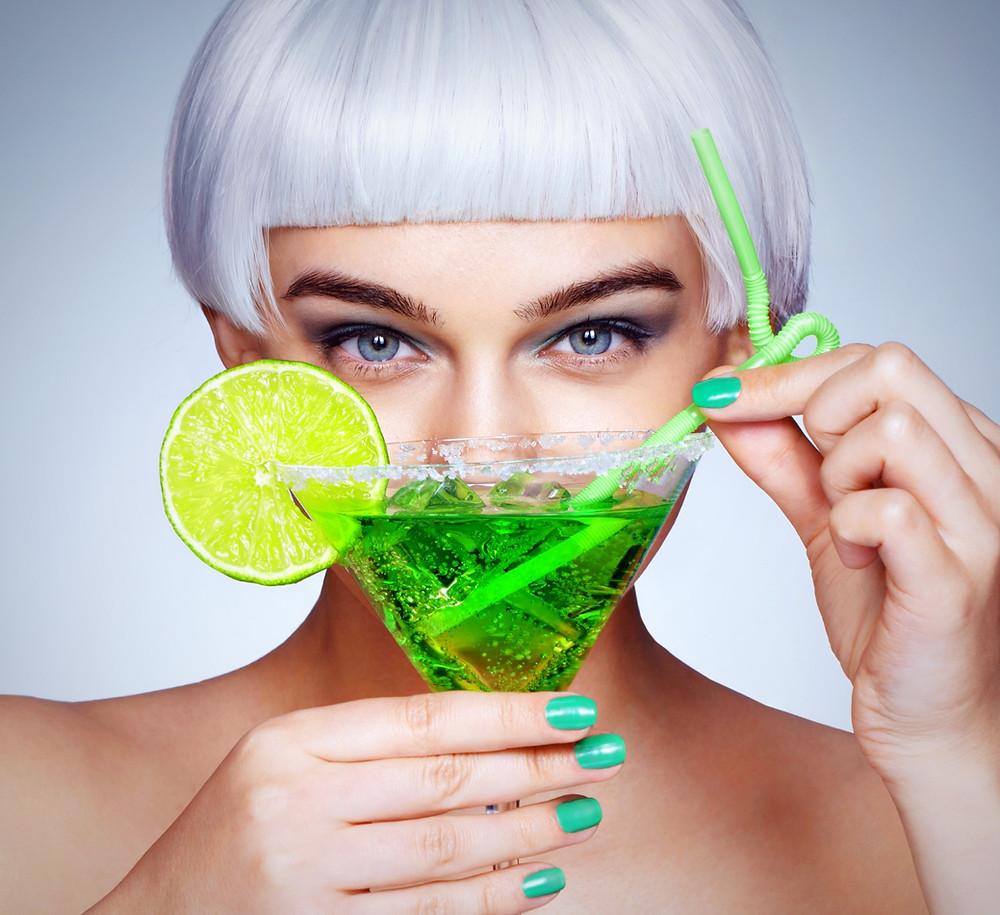 Green cocktail, Virgin mojito