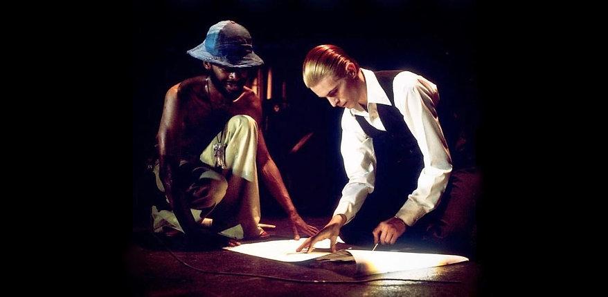 David Bowie Dennis Davis 1976
