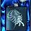Thumbnail: Celtic Horse hip flask. Scottish Kelpie flask.