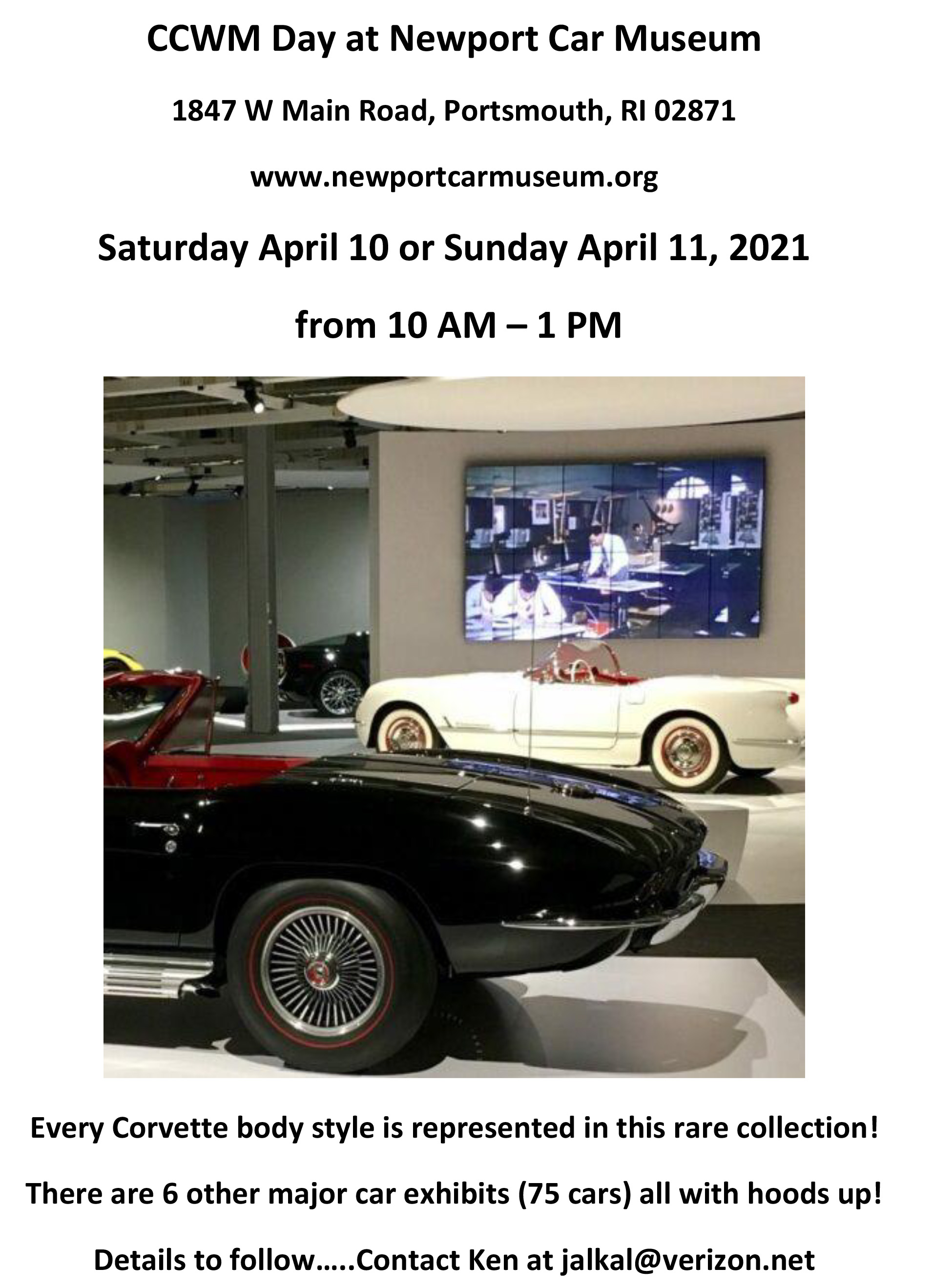 CCWM Day at Newport Car   Museum2021-1