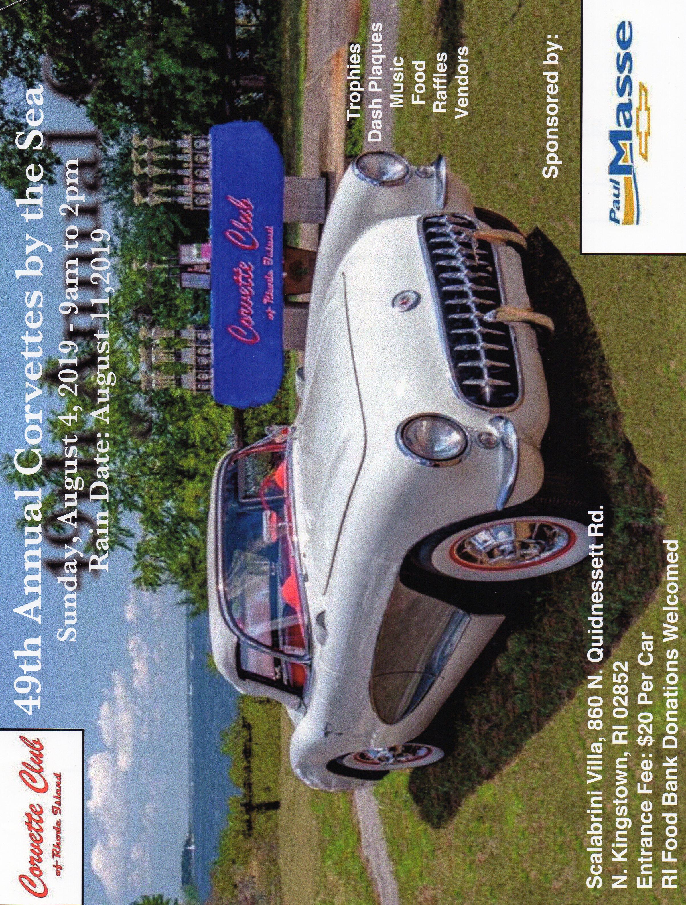 Corvette Club Event Flyers