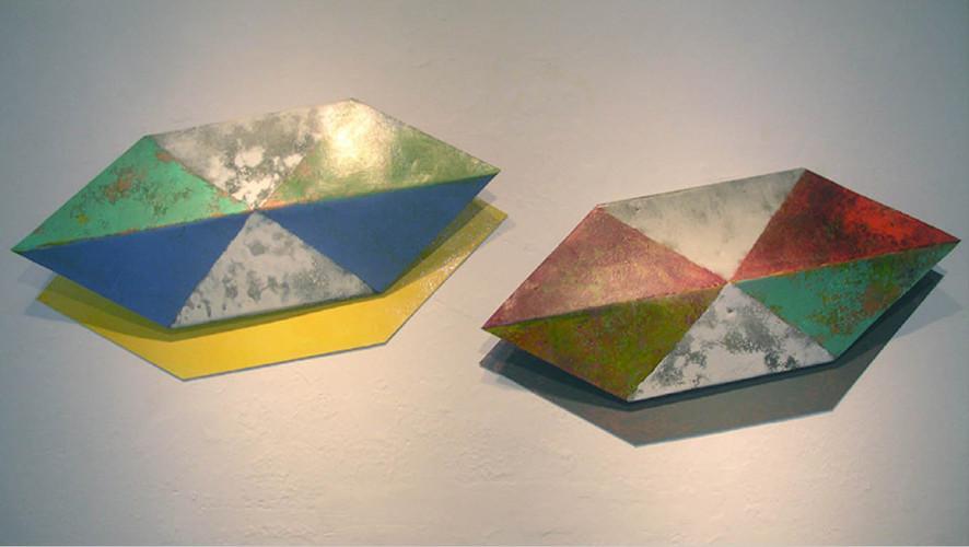 Hex Folds w/ shadows