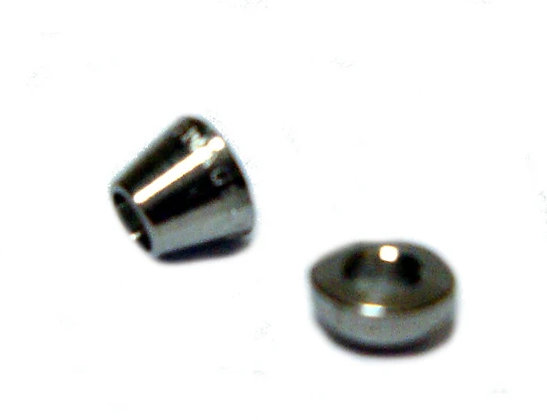 "Stainless Steel Ferrules - 1/8"" (front & back)"