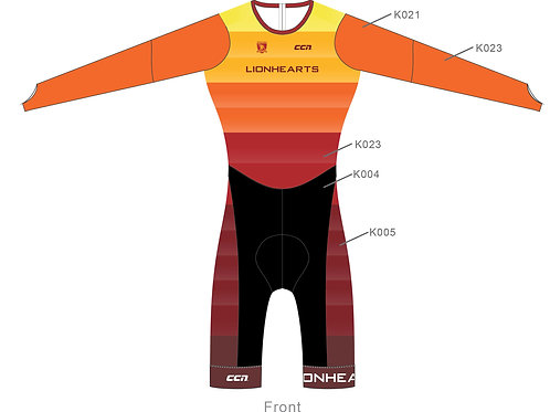 Long Sleeve Skin Suit PRO