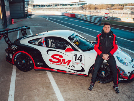 Caygill Joins Top Team Redline For Porsche Carrera Cup GB Debut