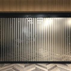 starpsienu aplīmēšana dekoratīvās plēves līmplēve superstikls