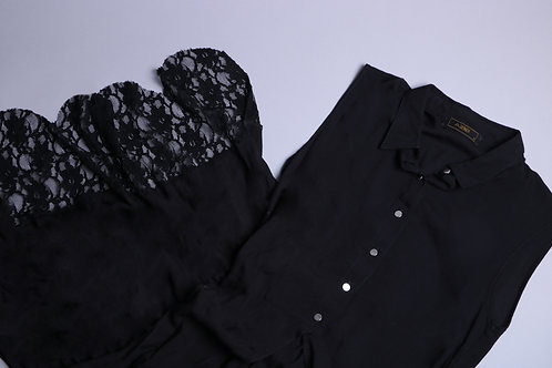 Bluson Negro Mujer  CM0010