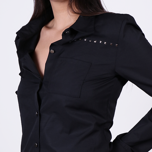 Camisa Negra CM006