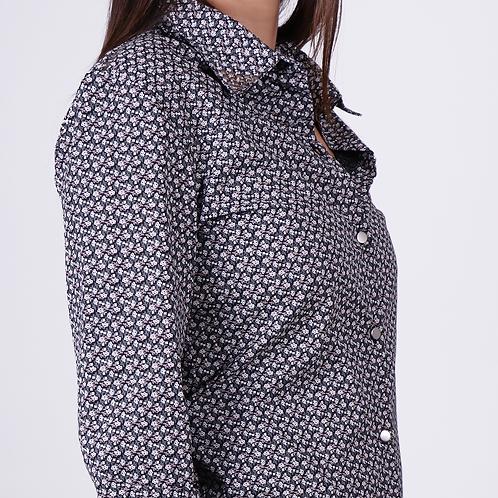 Camisa Negra Print CM003