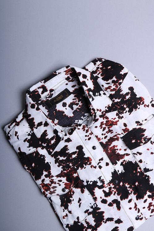 Camisa Print vaca CM022