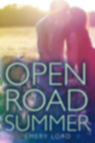 Open Road Summer book cover- couple kissing
