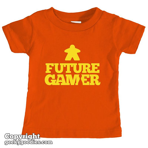 Future Gamer Toddler Tee Shirt (Yellow Letters)