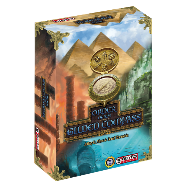 Contest Alert! Win a Copy of Order of the Gilded Compass | Board Game Giveaways | #ContestAlert