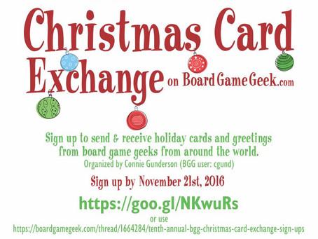 Christmas Card Exchange on BoardGameGeek.com